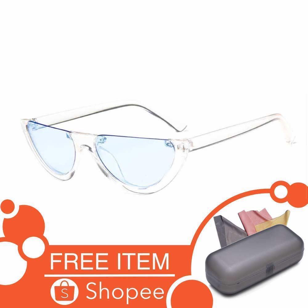 Anti UV Sunglasses   Pink-X   Kacamata Pria   Wanita - OVAL FREE SARUNG  e630a7108e