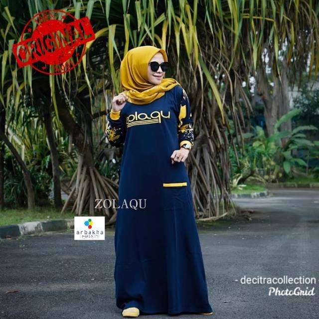 Gamis Kaos Zolaqu Ori Gamis Zolaqu Original Shopee Indonesia