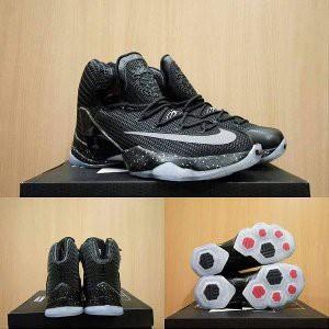a2adbaf494f Sepatu Basket Nike Lebron 13 Xiii Elite black silver Limitid ...