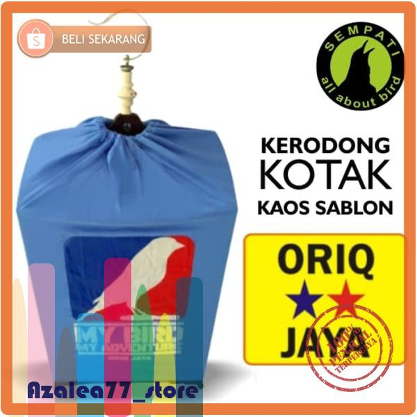 KERODONG KRODONG SANGKAR BURUNG LOVEBIRD LOMBA POLOS ORIQ JAYA | Shopee Indonesia