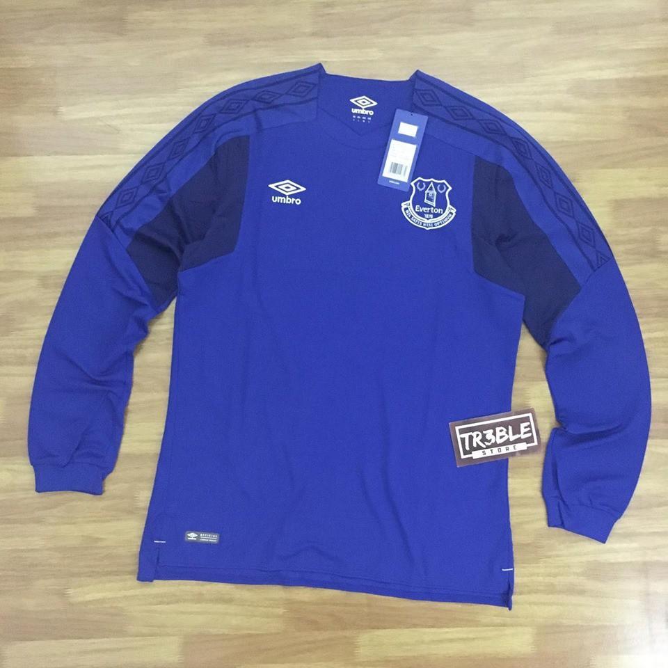 Promo Kaos Baju Jersey Bola Original Umbro Everton Home 2017 18 Murah Shopee Indonesia