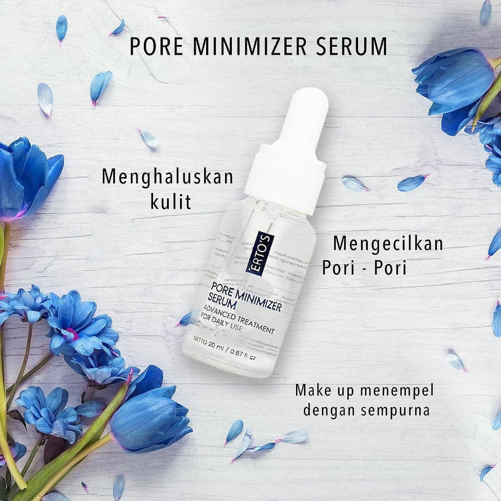 Ertos Pore Minimizer Serum Advance Treatment Serum Pengecil Pori