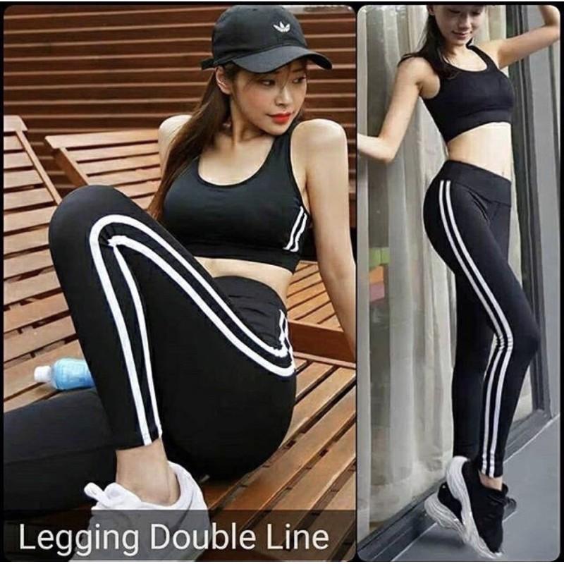 Premium Real Pic Celana Legging Import Putih List 450 Shopee Indonesia