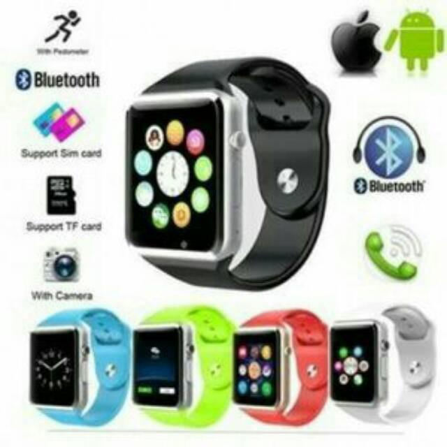 smart watch A1 smartwatch U10 / jam tangan wanita apple iphone | Shopee Indonesia