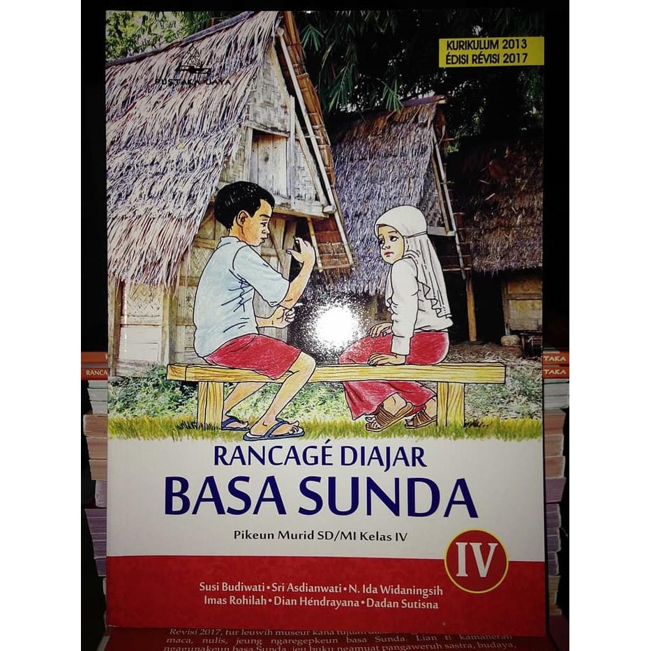 Buku Bahasa Sunda Rancage Diajar Basa Sunda Kelas 4 Sd Mi Bk2692 Shopee Indonesia