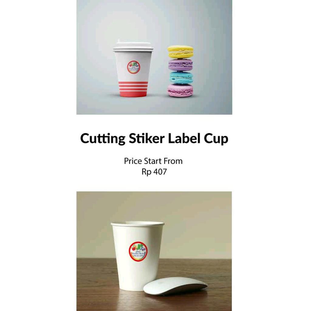 Cutting Stiker Boy Shopee Indonesia Hello Kitty A Label Nama Bulat