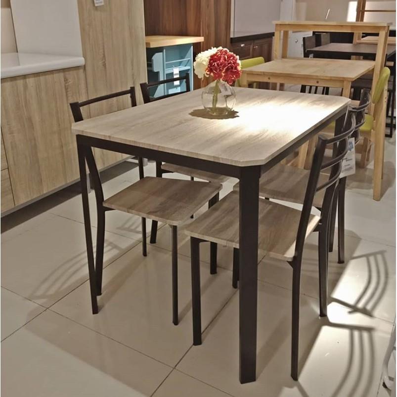Interior Furniture Zayn Set Meja Makan By Informa
