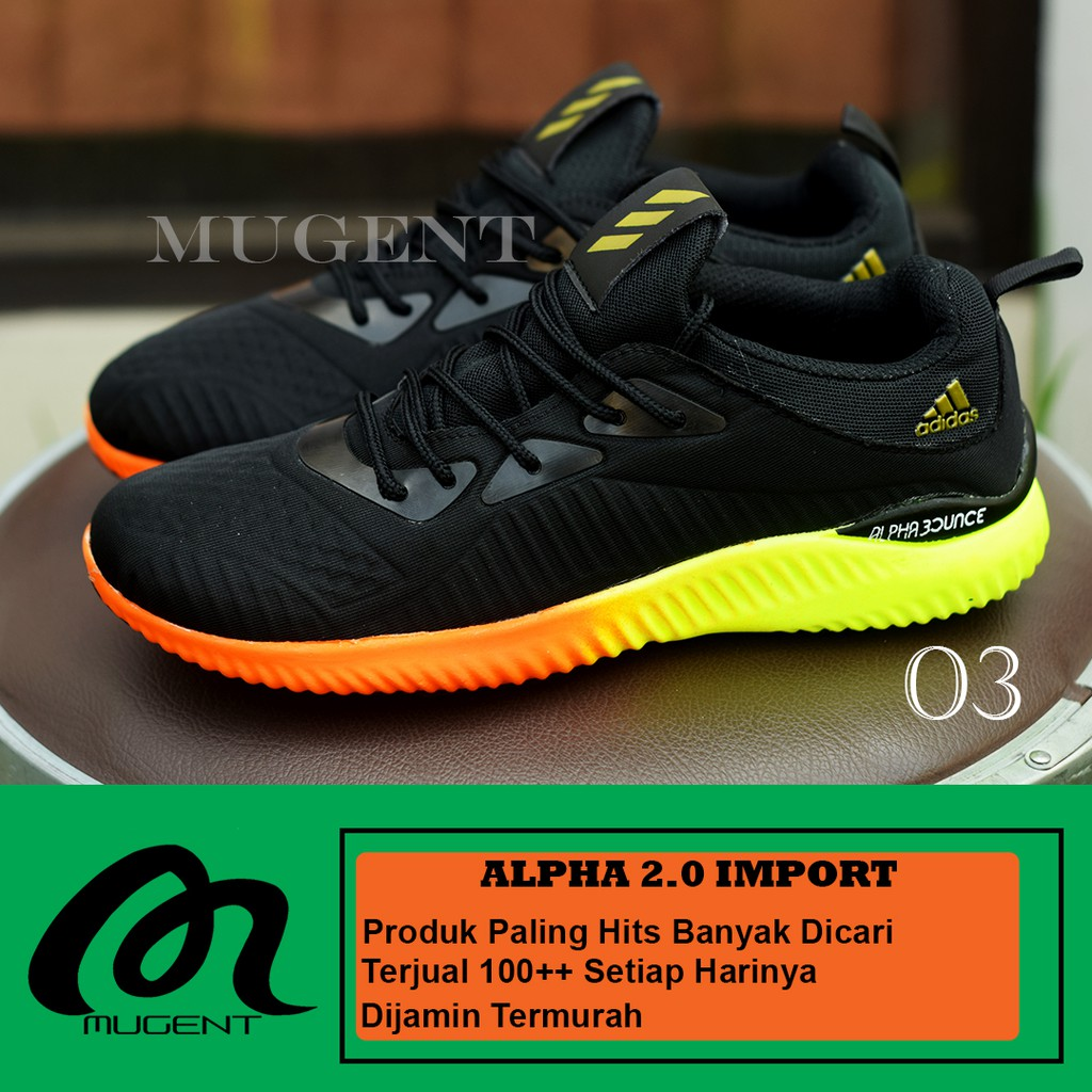 Sepatu olahraga lari gym fitness DIADORA Dynos All Black  5a27460932