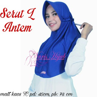 Promo Segi Empat Motif Flamingo Hijab Maxmara Fashion Wanita