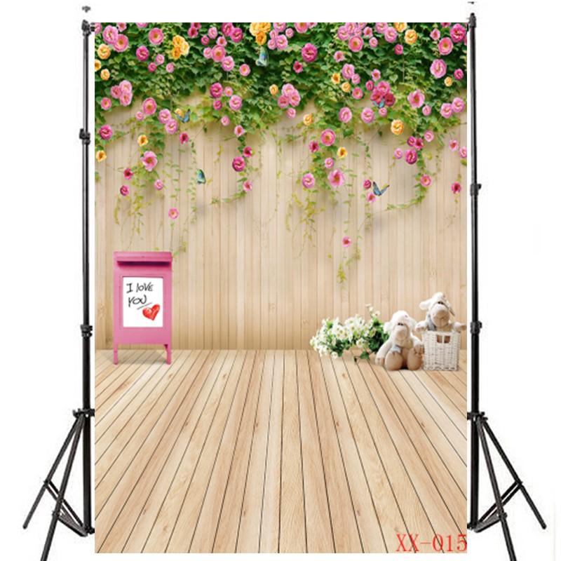 Backdrop Background Motif Bunga Untuk Dekorasi Pernikahan Ulang Tahun Bayi 015