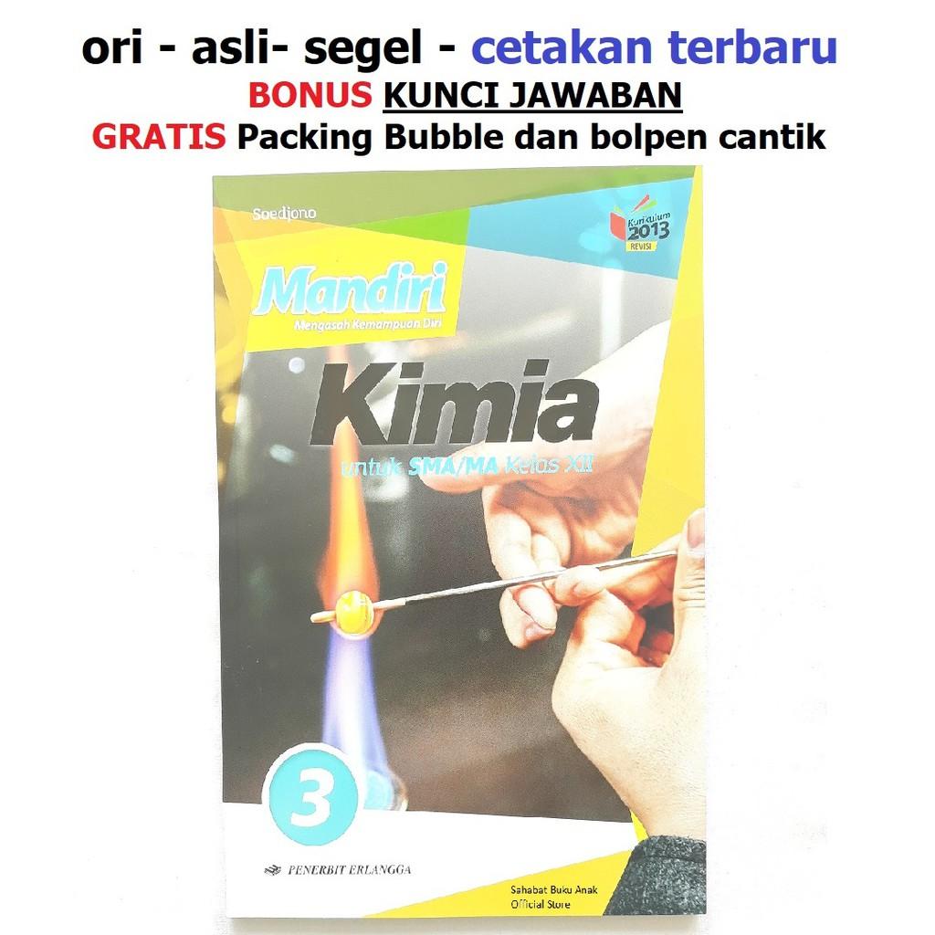 Buku Mandiri Kimia Sma Kelas 12 Xii K13 Soal Jawaban Kurtilas Shopee Indonesia