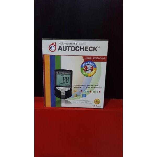 Cuci Gudang Alat Autocheck Gcu 3 In 1 Gula Darah Kolesterol Asam Urat New   Shopee Indonesia