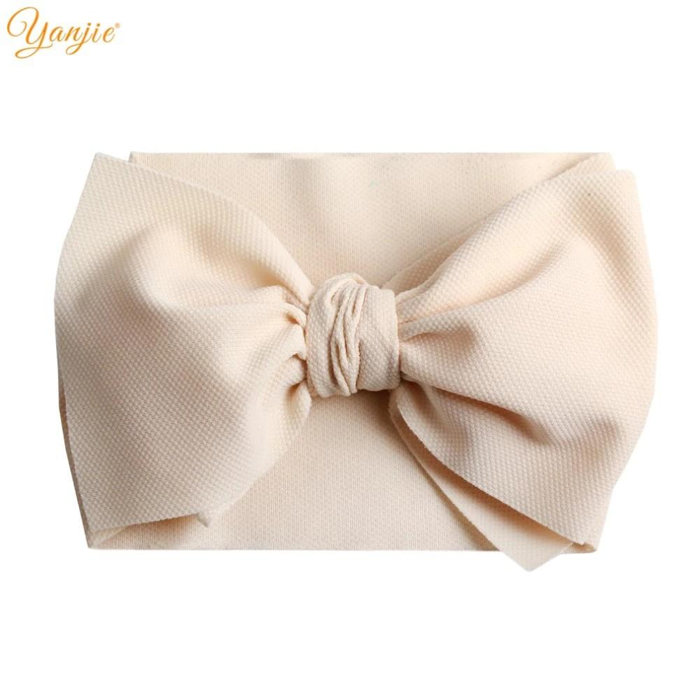10pcs Newborn Baby Girl Infant Toddler Headband Bow Ribbon HairBand Accessory RU