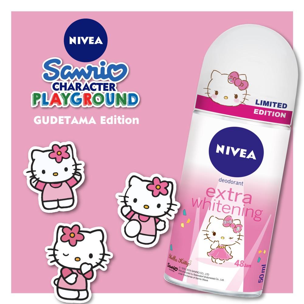 Nivea Deodorant Sanrio Hello Kitty 50 Ml Shopee Indonesia