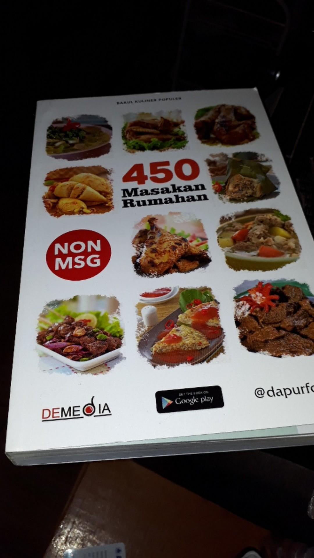 Terbaru 450 Resep Masakan Rumah Non Msg Dapur Foody Shopee Indonesia