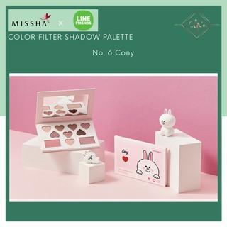 Eye Shadow Palette Missha x Line Friends - Color Filter Shadow Palette - Cony thumbnail