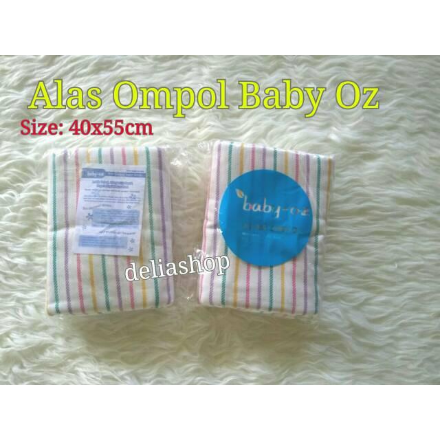 Baby Oz - Alas Ompol Bayi 100% Cotton Mudah Menyerap - 12Pcs | Shopee Indonesia
