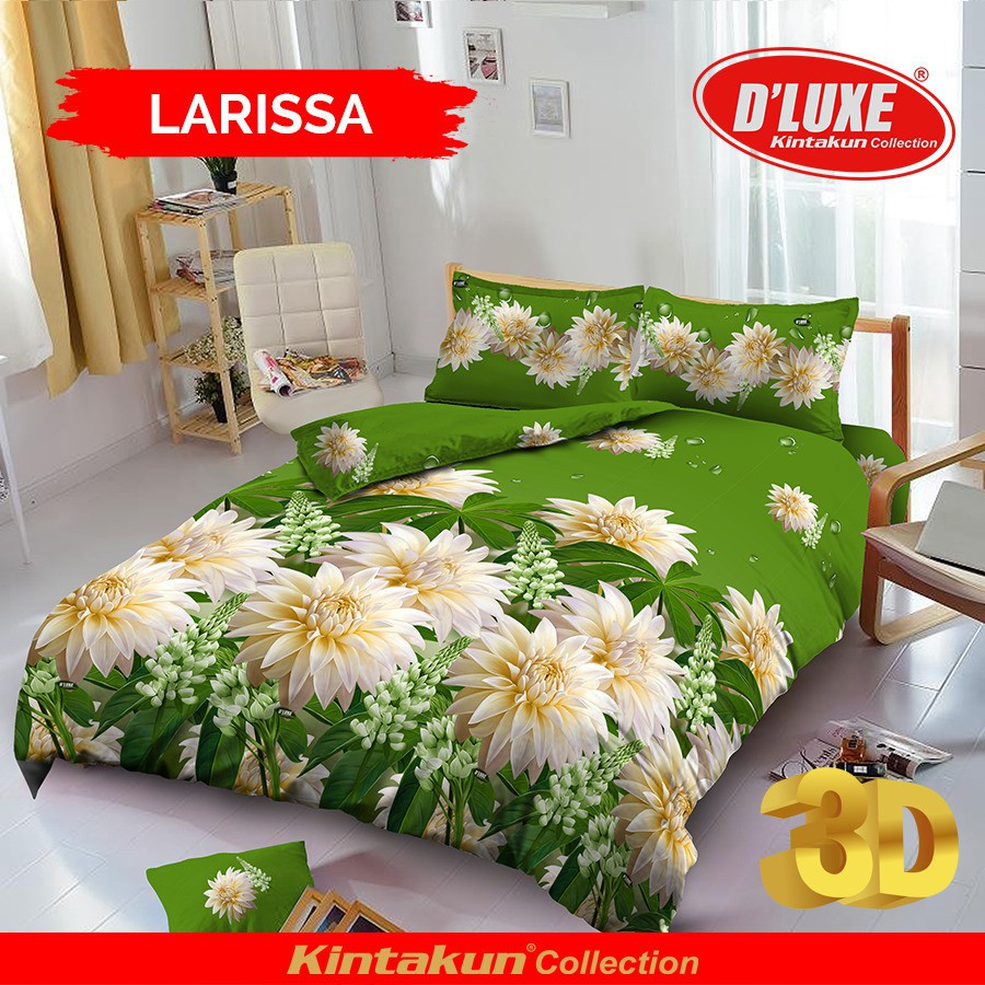 120 Sprei Kintakun Dluxe Real Madrid No3 Shopee Indonesia 120x200