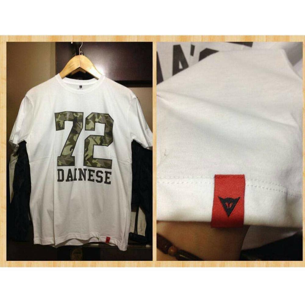 Tshirt Kaos Dainese Premium Grip It Shopee Indonesia Sticker Stiker Visor Kaca Helm Instagram Kyt Zeus Kbc Ink Motovlog Blogger Tsr