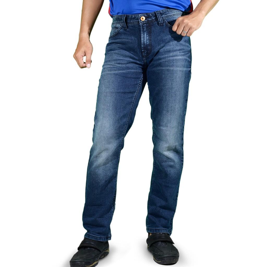 Harga Dan Spek Emba Jeans Fm316 Celana Pria Warna Hs Medium Denim Muda Biru 33 Panjang Bs 08a1 Jordan Regular Heavy Stone Original