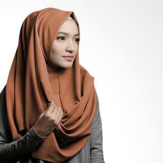 Shopee Fashion Muslim Hijab Pashmina Pashmina Instan Sabrina - Jilbab Instan Kerudung Berkualitas Pastan Oshi. habis