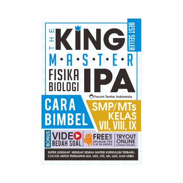 The King Master Ipa Smp Mts Bk2633 Shopee Indonesia