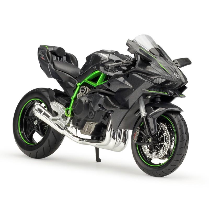 Kawasaki Ninja H2r >> Maisto Miniatur Kawasaki Ninja H2r Skala 1 12