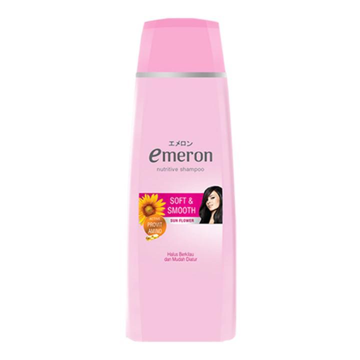 Emeron Shampoo Soft Smooth Botol 340ml-2