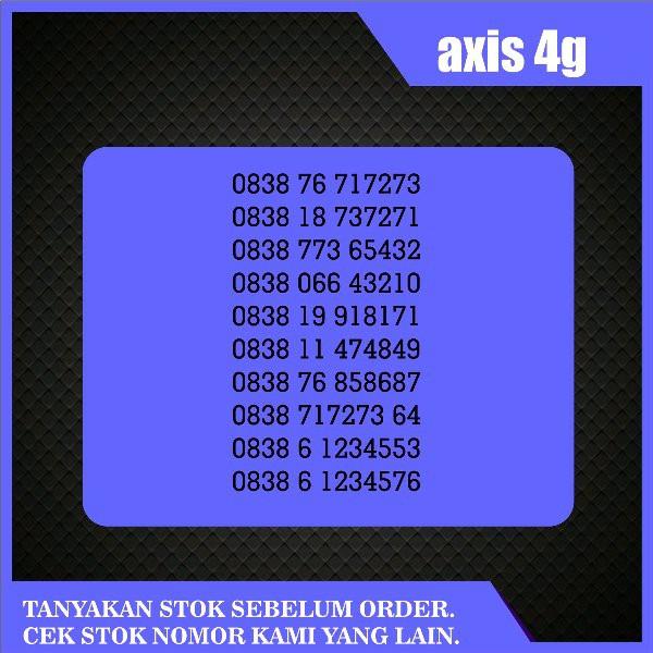 Nomer Cantik Axis RAPIH buat para bosss nomor cantik axis   Shopee Indonesia