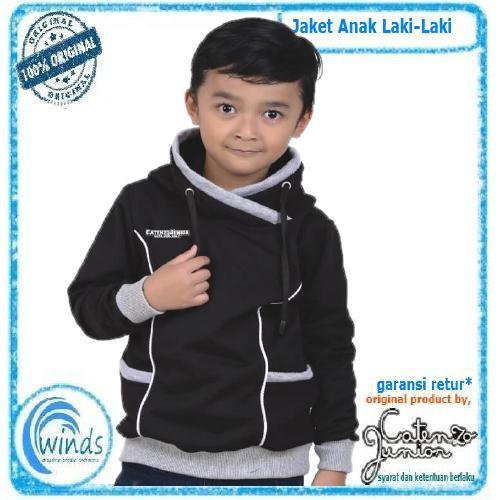 Jaket Jeans Anak Laki Laki Murah Hoodie Cowok Original Distro Catenzo  Junior  f1884a8224