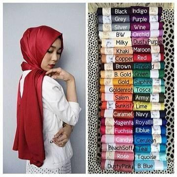 Kerudung Pashmina Velvet Shopee Indonesia