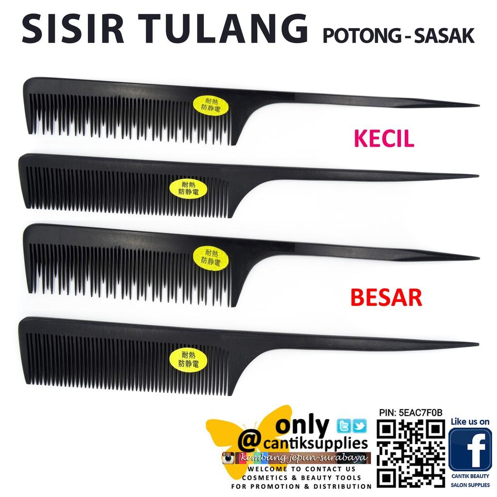 Sisir Potong Rambut Rata Untuk Pangkas Rambut Dan Barbershop Merk Elov  2668e4bb2c