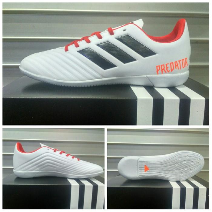 a7c4a86206d BBS-700 Sepatu Futsal Adidas Predator 18 Oren-Hitam Grade Ori ...