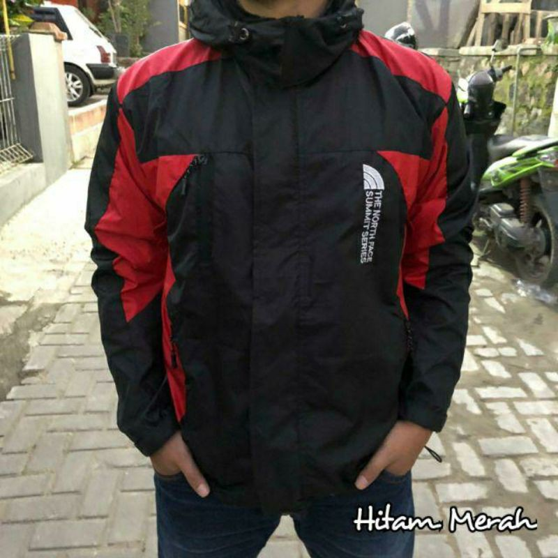 jaket waterproof ringan bukan jas hujan murah berkualitas summit series jaket  motor jaket keren top | Shopee Indonesia