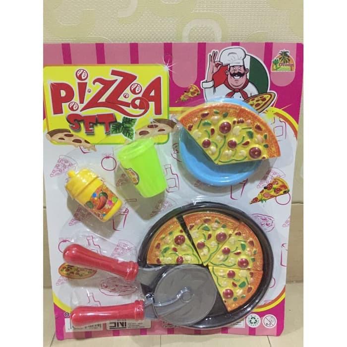 Mainan Pizza Set Mainan Pizza Mainan Masak Masakan Mainan Anak Cewek Shopee Indonesia