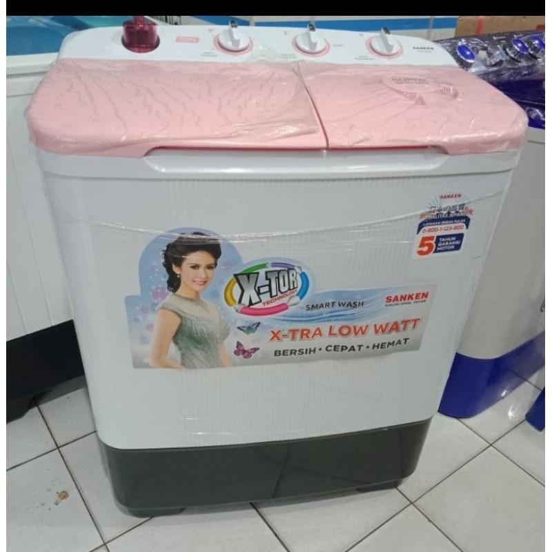 Mesin Cuci Sanken 8 kg TW 8660 Mesin Cuci 2 Tabung 7 kg Sanken Bandung