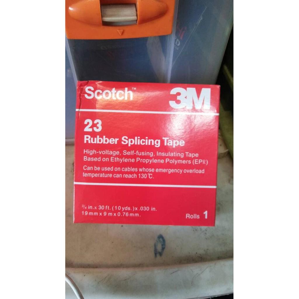 Unik Isolasi 3m Scotch 23 Rubber Tape Limited Shopee Solasi Splicing Indonesia