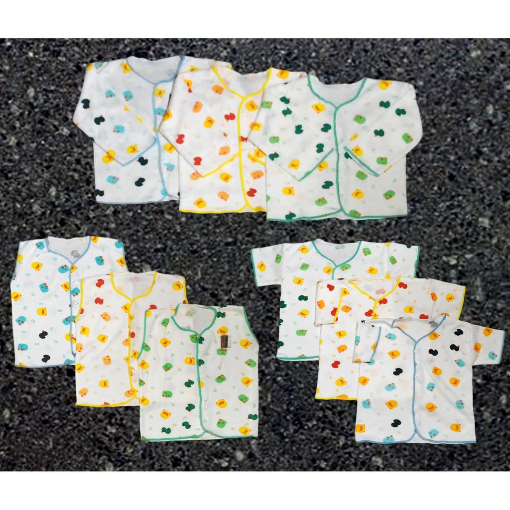 3 Pcs Setelan Celana Baju Lengan Panjang Bayi Baru Lahir Newborn Spy46 Motif Poppy Piyama Tidur Shankusen Shopee Indonesia