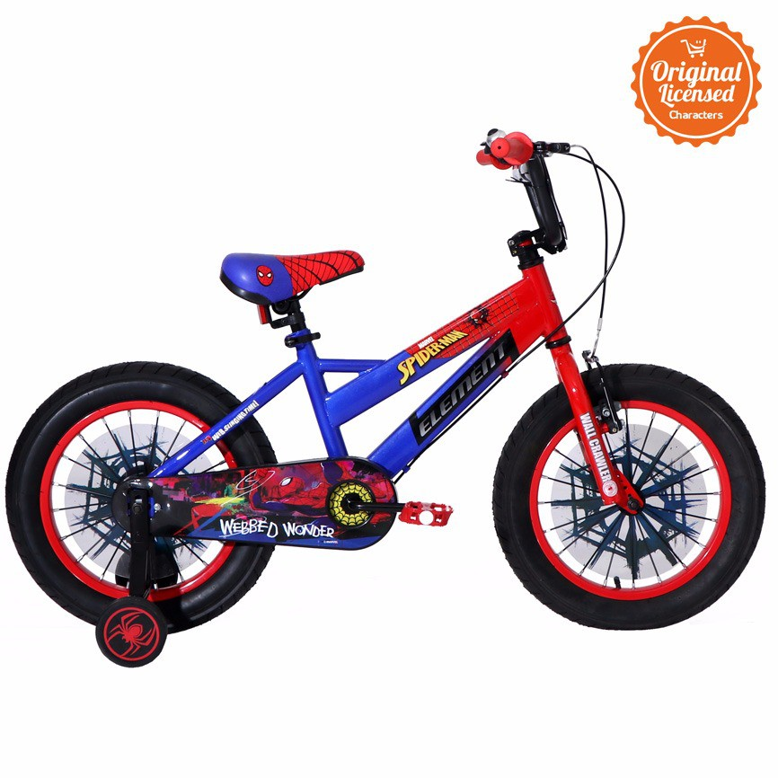 Element Sepeda Anak Marvel series Spider-Man 12 inch ...
