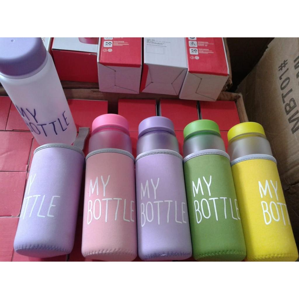 My Bottle Infused Water Doff Pouch Botol Minuman 500ml Sama Shopee Indonesia
