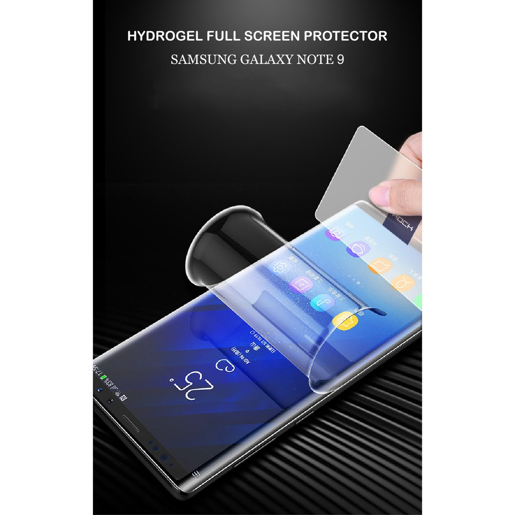 Tempered Glass Anti Gores Samsung Note 9 Shopee Indonesia Jelly Shock Galaxy Fe Case Friendly New Design