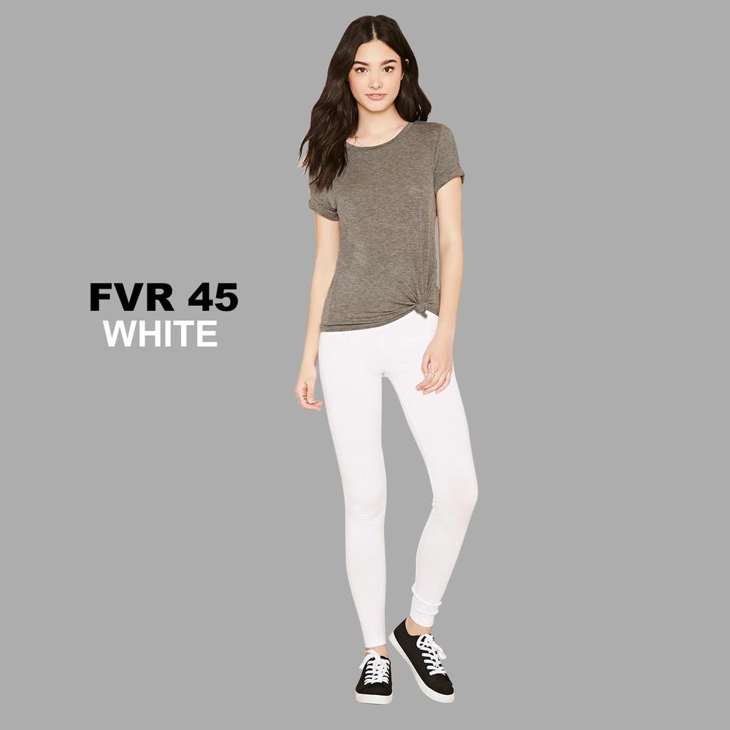 Pusat Obral Legging Celana Panjang Forever 21 F21 Putih Grosir Murah Original Cuci Gudang Diskon Shopee Indonesia