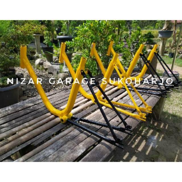 Frame Dalangan Sepeda Minion Minitrack Merk Phoenix Bisa