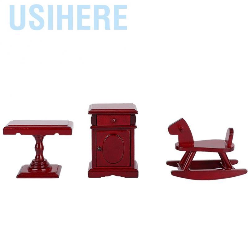 Usihere Dollhouse Miniature Furniture