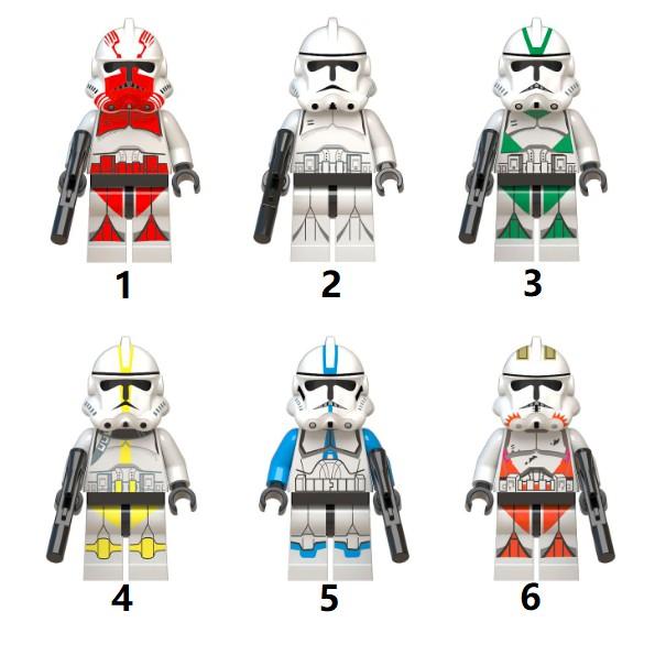 Star Wars Clone Trooper Episode 3 Minifig Minifigure Lego Shopee Indonesia