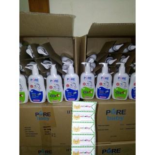 Pure wash sabun mandi bayi pure baby wash Fruity Freshy 230ml