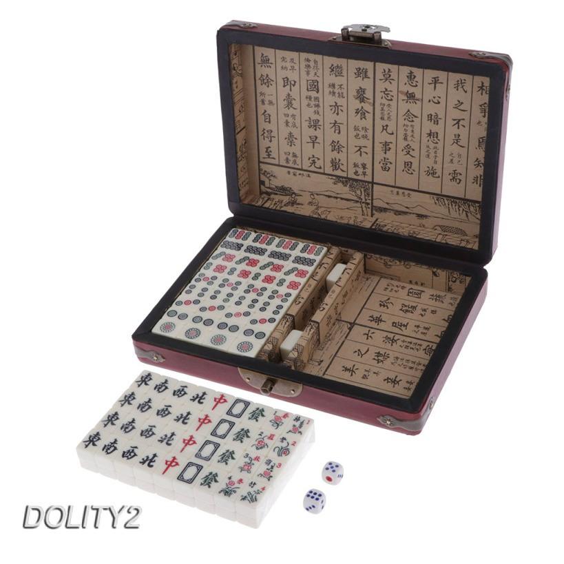 Mahjong Mini Permainan Tradisional Cina Untuk Pesta Shopee Indonesia