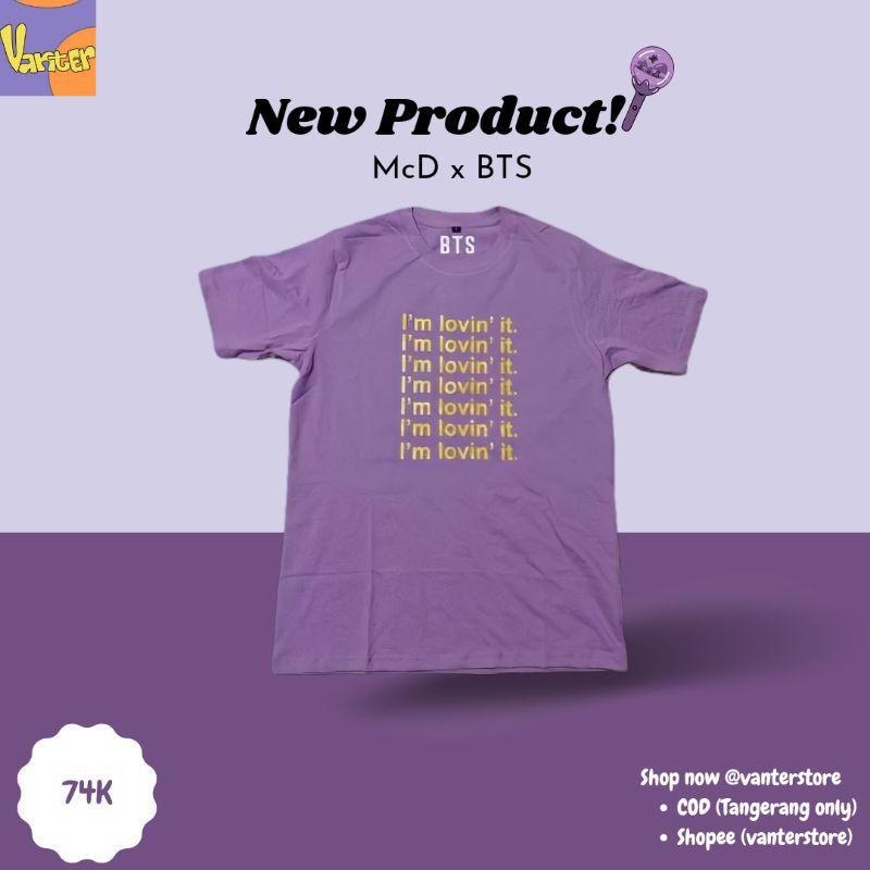 MERCH MCD x BTS T-SHIRT (Vanter Store)