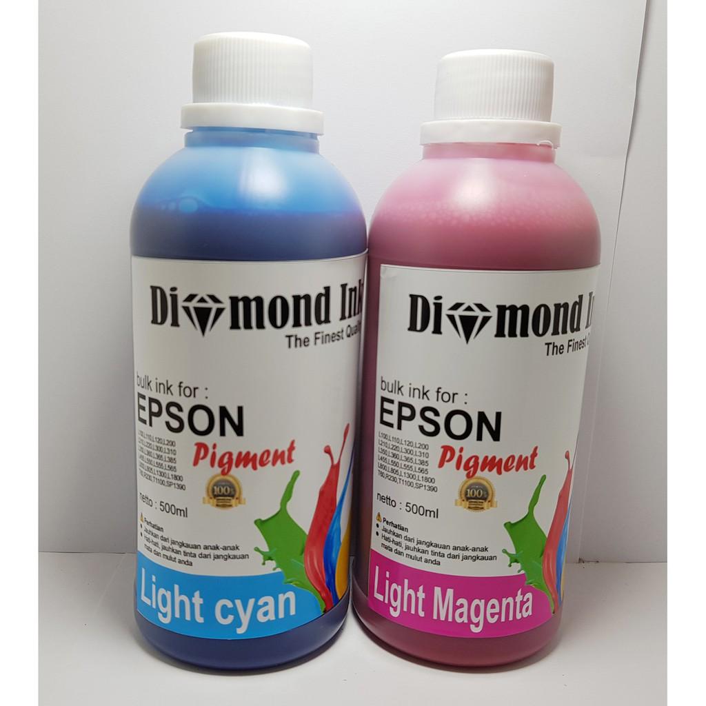 Diamond Tinta Epson Isi Ulang 500ml Best Quality Ink Shopee Indonesia 664