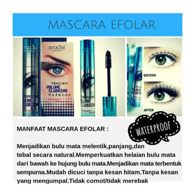 76e00a3919d MASCARA EFOLAR | Shopee Indonesia